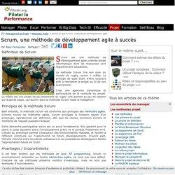 Scrum methode de developpement agile