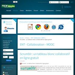 Scrumblr : un tableau blanc collaboratif en ligne gratuit