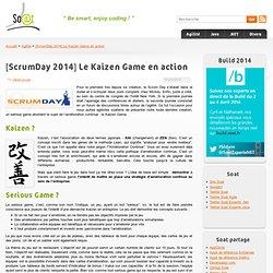 [ScrumDay 2014] Le Kaizen Game en action