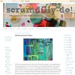 scrumdilly-do!: Self Portrait-Literal Cubism