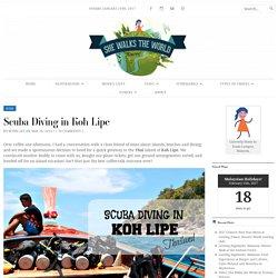 Scuba Diving in Koh Lipe – She Walks the World