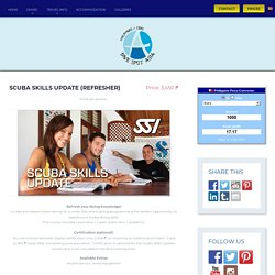 Scuba Skills Update (Refresher) - Dive Spot Asia