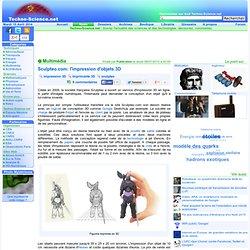 Sculpteo.com: l'impression d'objets 3D