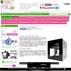Sculptify - L'imprimante 3D à pellets - Vente Fil imprimante 3D
