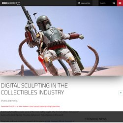 Digital sculpting in the collectibles industry