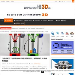 Sculptr Delta, la nouvelle imprimante 3D Made in France