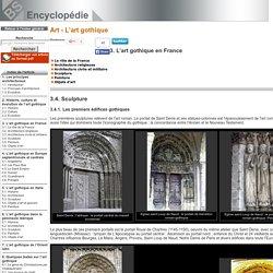 Sculpture [Art - L'art gothique->L'art gothique en France]