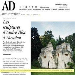 Les sculptures monumentales d'André Bloc à Meudon