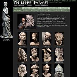 Portrait Sculptures, Figurative Sculpting Classes by Philippe Faraut