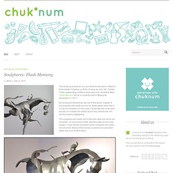 Sculptures: Flash Memory « Chuk'num