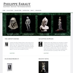 Portrait Sculptures, Sculpting Instruction & Marble Sculptures by Philippe Faraut