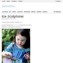 Ice Sculptures – Juggling With Kids