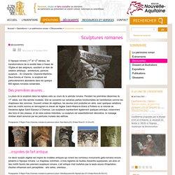 Sculptures romanes en Poitou-Charentes - Patrimoine et inventaire de Poitou-Charentes