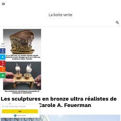 Les sculptures en bronze ultra réalistes de nageuses par Carole A. Feuerman