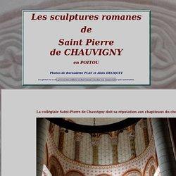 sculptures romanes de St Pierre de CHAUVIGNY