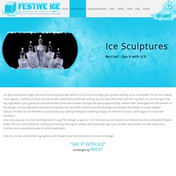 Ice Sculptures services in Ontario