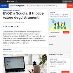 BYOD a Scuola, il triplice valore degli strumenti