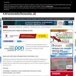 PON Scuola 2014-2020, le ultime novità – Orizzonte Scuola