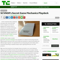 SCVNGR's Secret Game Mechanics Playdeck