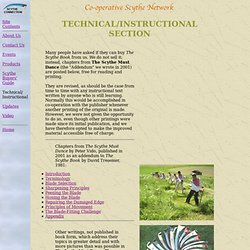 Technical/Instructional