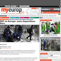 SDF en Europe: sans dispositions fixes