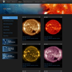 SDO Data - Solar Dynamics Observatory