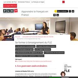 Enseigner le FLE. Formations. - FLE.fr
