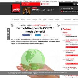 Se mobiliser pour la COP21 : mode d'emploi