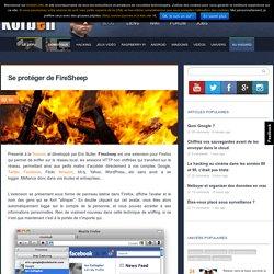 Se protéger de FireSheep - Korben