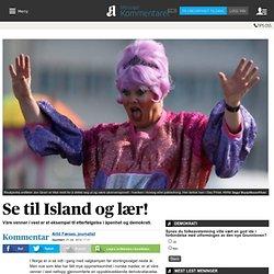 Se til Island og lær!