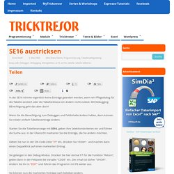 Tipps und Tricks zu SAP R/3