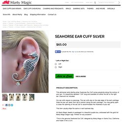Sea Horse Ear Cuff Jewelry