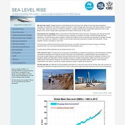 Sea-level Rise - CSIRO & ACECRC