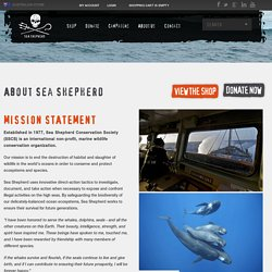 Sea Shepherd Clothes, About Sea Shepherd