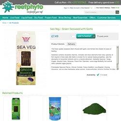Sea Veg - Green Seaweed - with Garlic