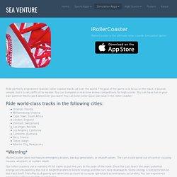 Sea Venture - iRollerCoaster