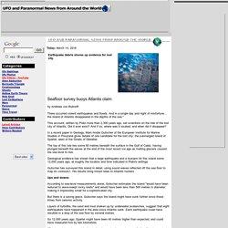 Seafloor survey buoys Atlantis claim
