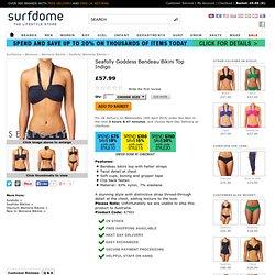Seafolly Bikini Tops - Seafolly Goddess Bandeau Bikini Top - Indigo