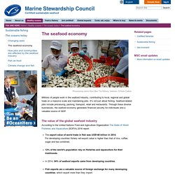 The seafood economy — Marine Stewardship Council