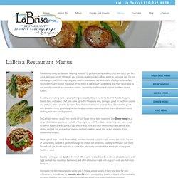 Make Your Weekend With LaBrisa Restaurant Menus