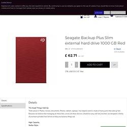 Buy Seagate Backup Plus Slim External Hard Drive Online
