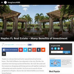 Naples FL Real Estate – Many Benefits of Investment