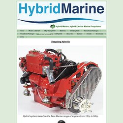 Seagoing Hybrids - Hybrid Electric Marine Propulsion