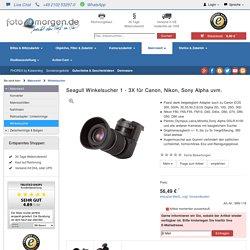 Seagull Winkelsucher 1 - 3X für Canon, Nikon, Sony Alpha uvm.