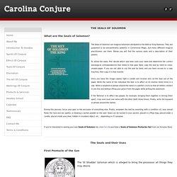 Seals of Solomon - Carolina Conjure