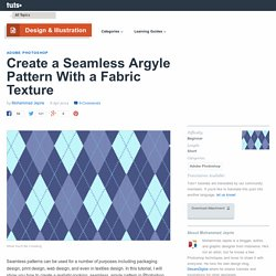 Create a Seamless Argyle Pattern With a Fabric Texture - Tuts+ Design & Illustration Tutorial