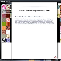 Seamless Pattern Background Designs