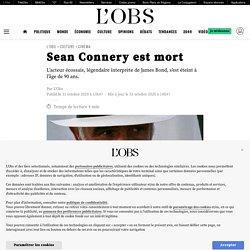 Sean Connery est mort...
