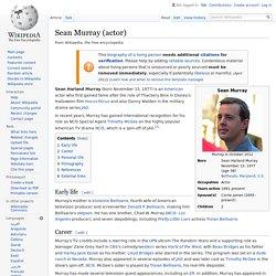 Sean Murray (actor) - Wikipedia