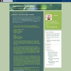 Sean10mm's Fitness Blog: Rippetoe's Starting Strength revisited